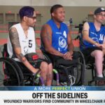 Wounded warriors find community in wheelchair rugby