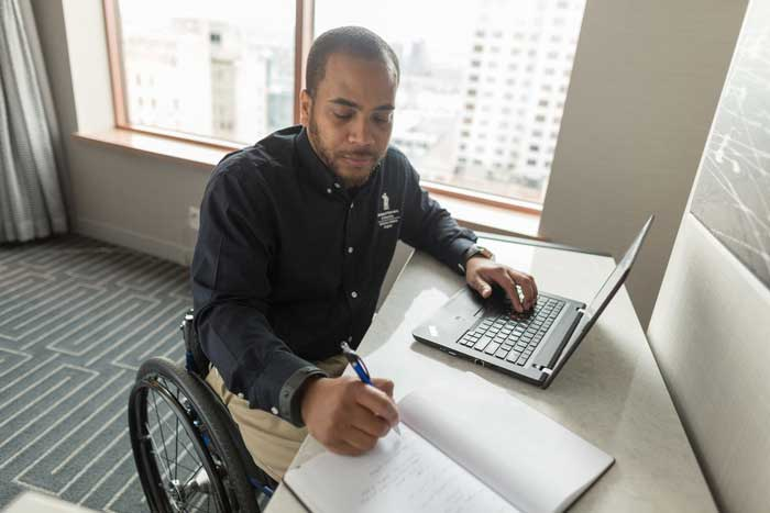 New virtual employment service provides  support for disabled veterans anywhere, anytime