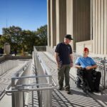 Paralyzed Veterans of America presents the Barrier-Free America Award for Soldiers Memorial Military Museum's new, exceptional accessibility