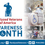 PVA Awareness Month recognizes veterans living with spinal cord injury and disorders