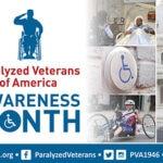 Paralyzed Veterans of America Awareness Month