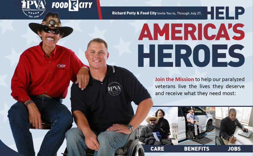 Food City and Richard Petty Kick Off July 4th Holiday In-Store Donation Drive