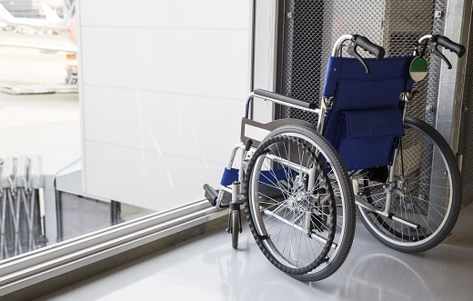 Wheelchair/Scooter Damage Reports